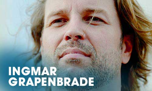 Der Schauspieler Ingmar Grapenbrade absolvierte über die Erwachsenenbildung am Artrium seinen Schauspielerausbildung