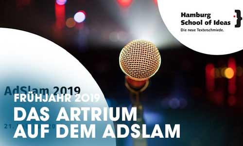 """Das Artrium-Schauspielschule Hamburg inszenierte drei Future-Theaterszenen als Showevent in Zusammenarbeit mit drei Autoren der """"School Of Ideas""""."""