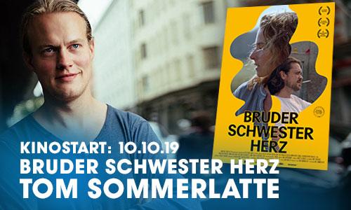 """Der Regisseur und ehemalige Schauspielschüler Tom Sommerlatte bringt seinen zweiten Spielfilm """"Bruder Schwester Herz """"in die Kinos. Dieser erhält das """"Prädikat wertvoll"""""""