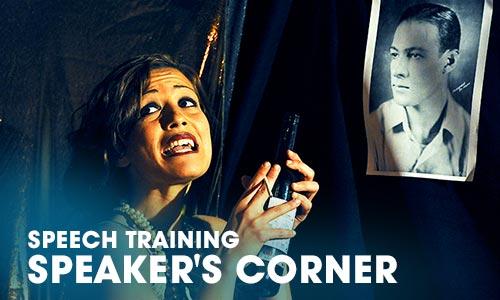 ARTRIUM ADULT TRAINING | Speech Training Speaker's Corner