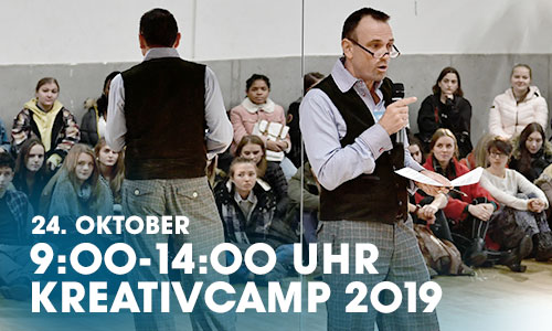 "Am 24. Oktober ist das artrium auf dem Kreativcamp 2019 in Hamburg in ""Die Halle Hamburg"" - Parkour Creation Center Oberhafen, Stockmeyerstraße 43/4F, 20457 Hamburg, dabei."