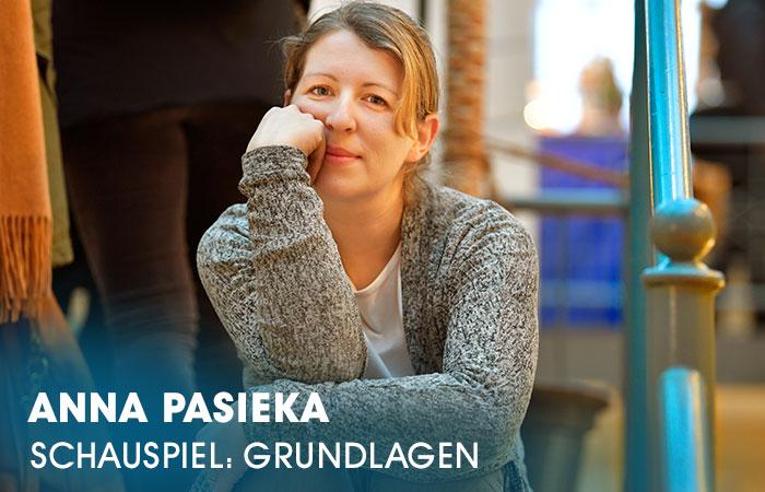 Die Dozentin Anna Pasieka lehrt an der Artrium Schauspielschule Hamburg das Fach Schauspiel: Grundlagen