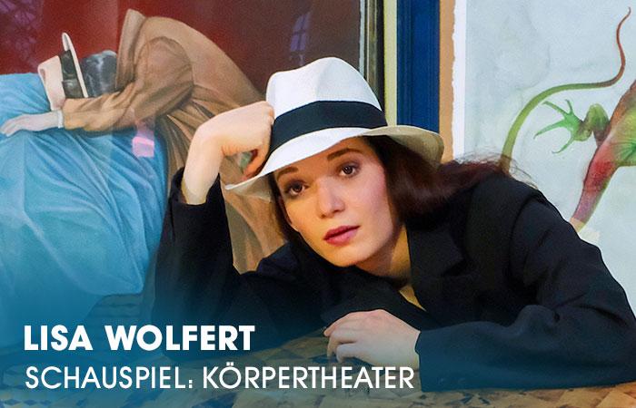Die Dozentin Lisa Wolfert lehrt an der Artrium Schauspielschule Hamburg das Fach Schauspiel: Körpertheater / Physical Theatre