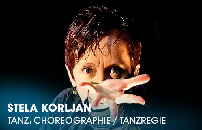 Die Dozentin Stela Korljan lehrt an der Artrium Schauspielschule Hamburg das Fach Tanz: Choreographie / Tanzregie
