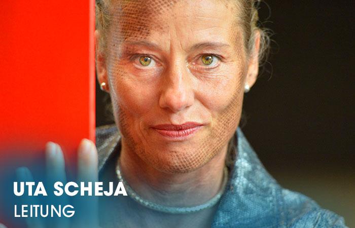 Die Dozentin Uta Scheja leitet die  Artrium Schauspielschule Hamburg administrativ